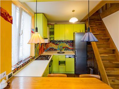 Studio in artistic portativ, constructie noua, zona rezidentiala