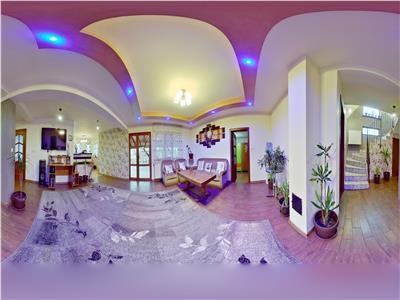 OFERTA TRANZACTIONATA! EXPLOREAZA VIRTUAL! Resedinta cu fantana fermecata,   pe domeniu de 5.200 mp teren, Sanpetru, Brasov