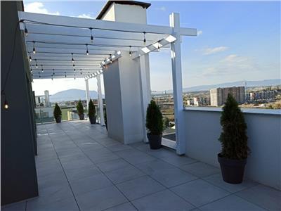 Penthouse in spectacol compozitional, pe 160 mp, mobilat si utilat, totul nou, Coresi Mall, Tractorul Brasov
