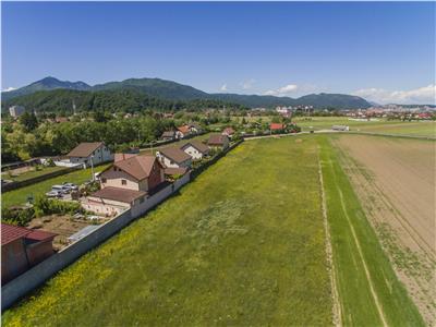 Filmare cu drona!! 2.600 mp teren, intrare Sacele, Brasov