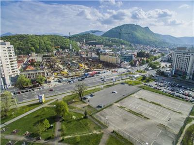 OFERTA REZERVATA!! FILM!Teren 1.500 mp,pretabil constructie Hotel si Specifice, Central,Brasov
