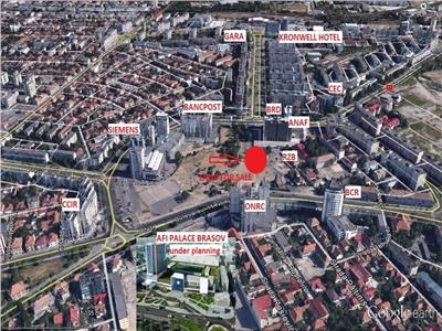 Teren Ultracentral, 1.500 mp,zona AFI PALACE Mall Brasov