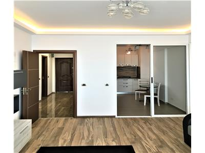 OFERTA INCHIRIATA!!Apartament premium, foarte spatios, mobilat si utilat marca finete, zona Mall Coresi, Brasov