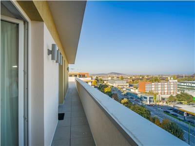 OFERTA REZERVATA!!!Penthouse, cu terasa de 210 mp, garaj subteran, constructie 2018, Brasov