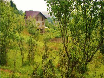 Imobil, in bratele naturii, pe 3.200 mp teren,  Brasov, Sacele- Central