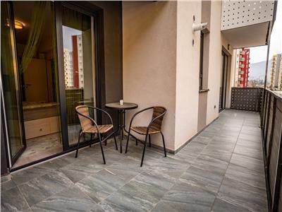 OFERTA REZERVATA!!!Distincta proprietate, cu eleganta terasa, loc parcare, Avantgarden 3, Brasov