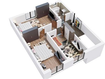 OFERTA TRANZACTIONATA!! EXPLOREAZA VIRTUAL! Casa moderna, la standard european, pe 4 camere si dependinte